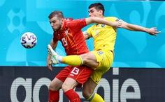 Ukraine - Bắc Macedonia (hiệp 1) 0-0: Ukraine đang ép sân