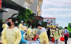 Bắc Giang bác tin 500 công nhân từ tỉnh này về Thái Nguyên trốn cách ly