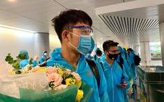 Đội tuyển Việt Nam đã về đến TP.HCM