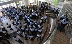 Cảnh sát Hong Kong bắt tổng biên tập nhật báo Apple
