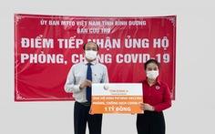 Tôn Đông Á trao 1 tỉ đồng để mua vắc xin phòng chống COVID-19
