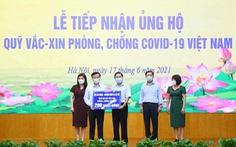 Quỹ vắc xin phòng, chống COVID-19 nhận thêm ủng hộ từ Bộ Lao động, thương binh và xã hội