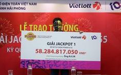 Tranh thủ mua vé số khi đi mua sắm tại Vinmart+, người chơi trúng Jackpot hơn 58 tỉ