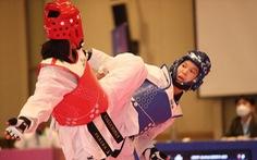 Võ sĩ Kim Tuyền giành HCV Giải taekwondo vô địch châu Á 2021