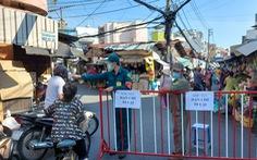 Kiểm soát, hạn chế người qua lại chợ Ga, Phú Nhuận