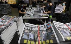 Nhật báo Apple ở Hong Kong từ 100.000 lên 500.000 bản in sau khi bị khám xét