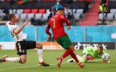 Bồ Đào Nha - Đức (hiệp 1) 1-0: Cristiano Ronaldo ghi bàn