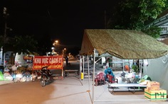 Phong tỏa gần 3 ấp của huyện Hóc Môn từ 0h ngày 20-6