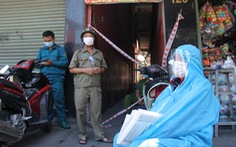 Phong tỏa hơn 1.300 hộ dân để xét nghiệm, tìm người tới quán cơm ở Đà Nẵng