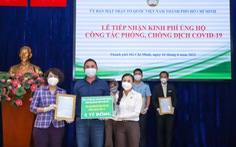 Quỹ Phát triển Tài năng Việt tiếp sức TP.HCM chống dịch