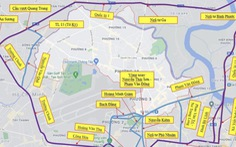 Hướng dẫn đi theo đường vành đai cho người dân các quận để tránh qua Gò Vấp