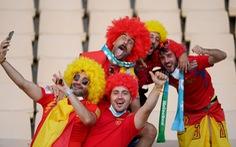 Tây Ban Nha - Ba Lan (hiệp 1) 0-0