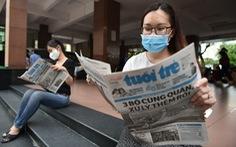 Người đọc sẽ cầm trên tay tờ báo có mình trong ấy