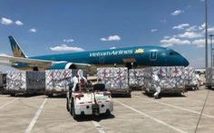 500.000 liều vắc xin từ Trung Quốc đã về tới sân bay Nội Bài