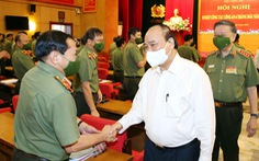 Chủ tịch nước Nguyễn Xuân Phúc: Nâng cao chất lượng điều tra, khám phá tội phạm