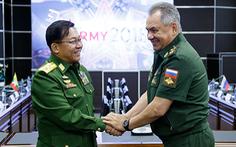 Tướng quân đội Myanmar đến Nga sau nghị quyết hạn chế vũ khí của LHQ