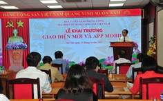 Ra mắt app di động mới báo điện tử Đảng Cộng sản Việt Nam
