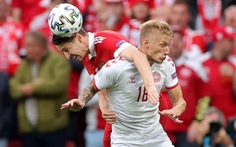 Đan Mạch - Nga (hiệp 1) 0-0 ; Bỉ - Phần Lan (hiệp 1) 0-0: