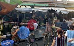 Khi chợ phường giăng dây