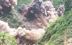 Dùng hơn 6 tấn thuốc nổ đánh sập 75 hầm vàng trái phép