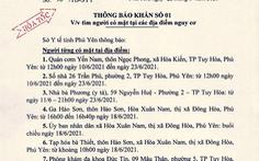 Bà chủ quán cơm dương tính, Phú Yên truy tìm khẩn cấp người đến 8 địa điểm