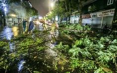 Hà Nội mưa lớn vào chiều tối, đề phòng cây đổ, ngập úng