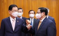 Việt Nam đề nghị Hàn Quốc ưu tiên chia sẻ vắc xin, hỗ trợ ODA