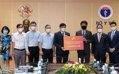 Tập đoàn Hàn Quốc đóng góp 1 triệu USD cho Quỹ vắc xin