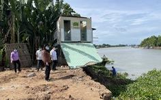 An Giang ban bố tình huống khẩn cấp sạt lở bờ sông Châu Đốc
