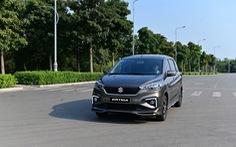 Suzuki Ertiga - Xe đa dụng linh hoạt, bảo vệ sức khỏe gia đình