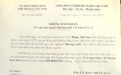 Phú Yên: Tìm thấy người phụ nữ mắc COVID-19 trốn trong đám mía sau nhà