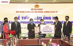 Honda Việt Nam ủng hộ 12 tỉ đồng vào 'Quỹ vắc xin phòng COVID-19'