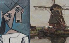 Tìm thấy 2 tác phẩm nổi tiếng của Picasso và Mondrian sau 9 năm mất cắp