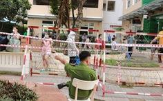 Block A1 chung cư Sunview Town ở Thủ Đức bị phong tỏa lần 2