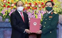 Thượng tướng Nguyễn Tân Cương làm tổng tham mưu trưởng