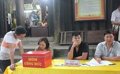 Giáo hội Phật giáo Quảng Ninh đề nghị Nhà nước không nên quản lý tiền công đức