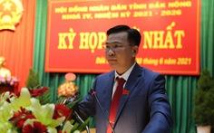 Ông Hồ Văn Mười được bầu làm chủ tịch tỉnh Đắk Nông