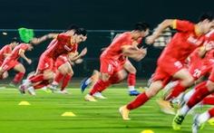 Tuyển Việt Nam tập đánh đầu, bứt tốc trước trận gặp Indonesia