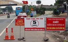 Đi khám bệnh ở TP.HCM về Bình Phước bị cách ly tại nhà 21 ngày