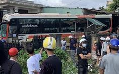 Tai nạn giữa xe khách, xe tải trên quốc lộ 14, 2 người chết, 4 người bị thương