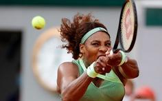 Serena Williams bị loại sớm, Federer rút lui khỏi Roland Garros