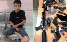 Cảnh sát đặc nhiệm 'tóm' kẻ tàng trữ, mua bán súng đạn ở Phú Nhuận