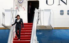 Máy bay Phó tổng thống Mỹ Harris phải quay đầu, hạ cánh do lỗi kỹ thuật