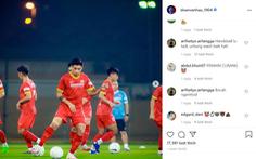 Dân mạng Indonesia 'tấn công' chửi bới Đoàn Văn Hậu trên Instagram