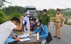 Xét nghiệm tất cả hộ dân TP Hà Tĩnh, Nghệ An lập 5 chốt kiểm dịch