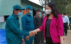 Phó chủ tịch nước Võ Thị Ánh Xuân đề nghị Kiên Giang giữ vững thành tích chống dịch