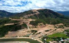 Cận cảnh núi Chín Khúc ở Nha Trang bị băm đứt từng khúc để làm đô thị, biệt thự