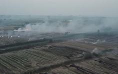 Bộ yêu cầu các tỉnh thành xử lý nghiêm việc đốt rơm rạ gây ô nhiễm