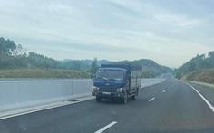 Tài xế lái ôtô đi ngược chiều trên cao tốc bị phạt 17 triệu đồng