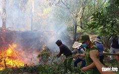 Nắng nóng miền Trung còn kéo dài, nhiều khu rừng báo động cháy rừng cấp 5